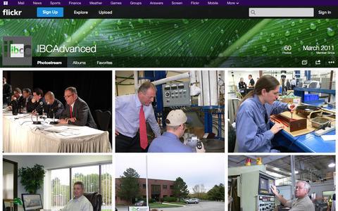 Screenshot of Flickr Page flickr.com - Flickr: IBCAdvanced's Photostream - captured Oct. 23, 2014
