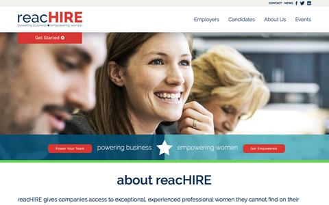 reacHIRE | Helping Women Return to Work. Moving Business Forward.