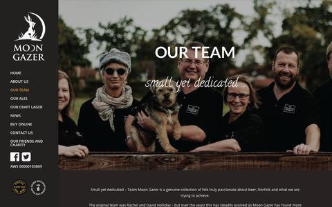 Screenshot of Team Page norfolkbrewhouse.co.uk - Our Team | Norfolk Brewhouse - captured Sept. 25, 2018