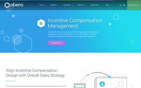 Incentive Compensation Management - ICM by Obero SPM - Obero SPM