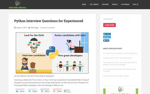 Blog | Interview Mocha -