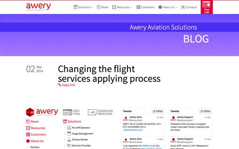 Screenshot of Blog awery.aero - Blog - captured Nov. 2, 2014
