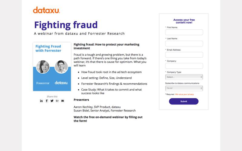 Fighting Fraud: How to protect your marketing investment