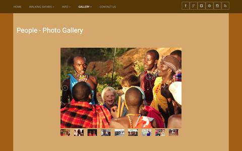 Screenshot of Team Page karisia.com - Images for People in Kenya - Photo Gallery - captured Oct. 15, 2018