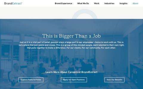 Jobs for Brand Strategists, Designers, Developers & Writers