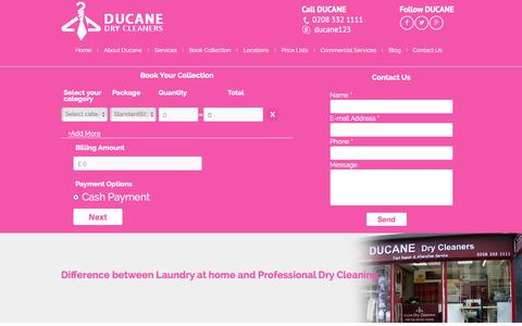 Screenshot of Blog ducanerichmond.co.uk - Blogs - captured Nov. 3, 2014