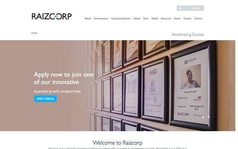 Business Incubators & Support Services| Entrepreneurship South Africa| Raizcorp