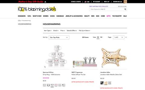 Best Housewarming Gifts, Luxury Housewarming Gifts - Bloomingdale's