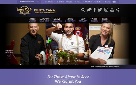 Careers | Hard Rock Hotel Punta Cana