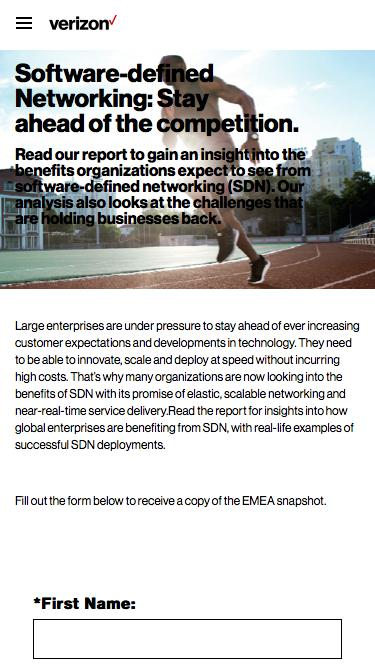 Embracing the disruptive power of software-defined networking: SDN Adoption in EMEA