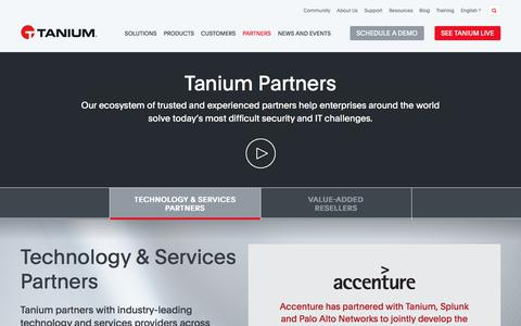 Tanium Partners | Tanium