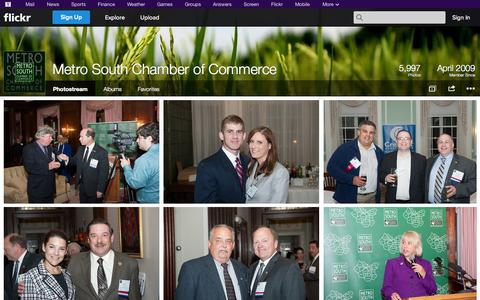 Screenshot of Flickr Page flickr.com - Flickr: Metro South Chamber of Commerce's Photostream - captured Oct. 27, 2014