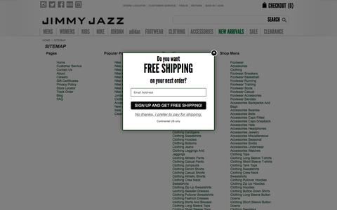 Sitemap | Jimmy Jazz Clothing & Shoes
