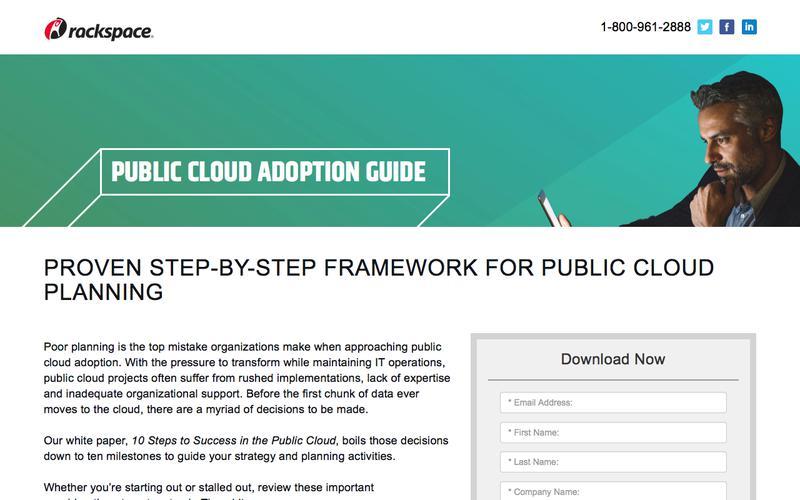 10-Step Public Cloud Adoption Guide