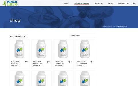 General Health Archives - Private Label Supplements and Vitamins
