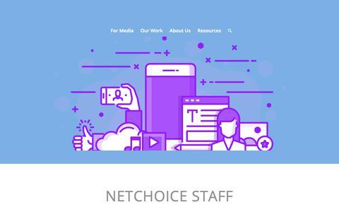 Screenshot of Team Page netchoice.org - NetChoice Staff – NetChoice - captured Nov. 4, 2018