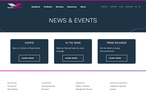 News and Events | Digital Guardian