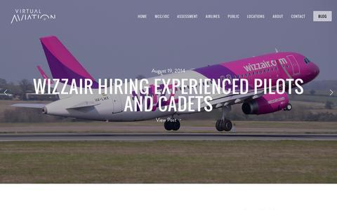 Screenshot of Blog virtualaviation.co.uk - Blog — Virtual Aviation - captured Oct. 7, 2014