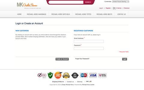 Screenshot of Login Page birchwoodhigh.co.uk - Customer Login - captured Oct. 5, 2014