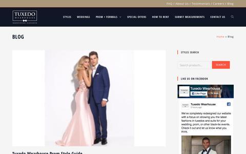 Blog - Tuxedo Wearhouse
