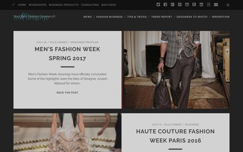 Screenshot of Blog mshopnyc.com - M Shop NYC – Start Your Fashion Company® - captured July 19, 2016