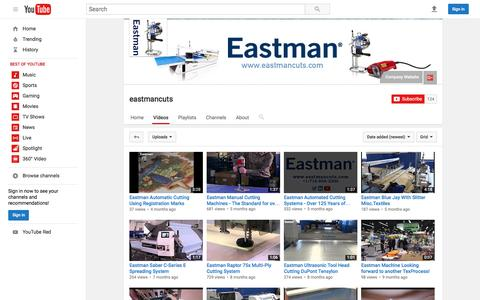 eastmancuts  - YouTube