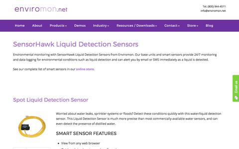 SensorHawk Liquid Detection Sensors - Enviromon