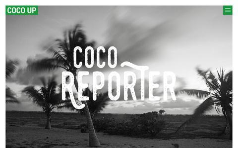 Screenshot of Blog cocoup.com - Blog - Coco Up - captured July 14, 2016