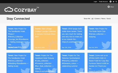 Screenshot of Blog cozybay.co.uk - Cozy Bay - captured Nov. 13, 2016