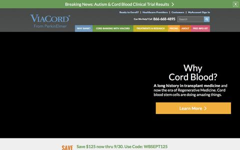 ViaCord | Your Family's Cord Blood Bank | ViaCord