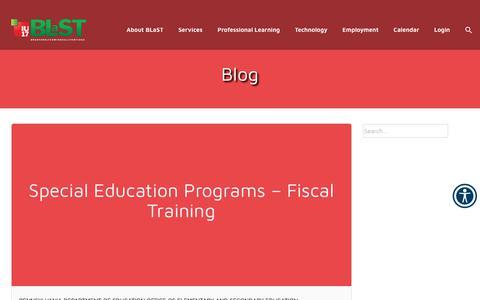 Screenshot of Blog iu17.org - Blog – BLaST Intermediate Unit 17 - captured Oct. 4, 2018