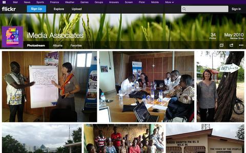 Screenshot of Flickr Page flickr.com - Flickr: iMedia Associates' Photostream - captured Oct. 25, 2014