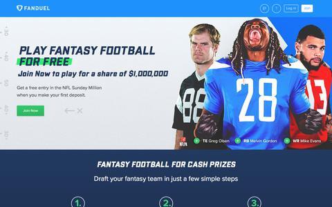 FanDuel | Fantasy Football  | FanDuel