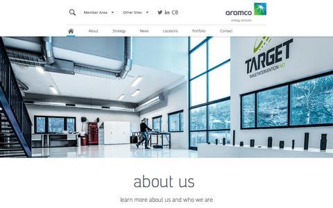 Screenshot of Locations Page aramcoventures.com - Saudi Aramco Energy Ventures LLC - Corporate Venturing Subsidiary of Saudi Aramco, Saudi Arabia - captured Dec. 1, 2016
