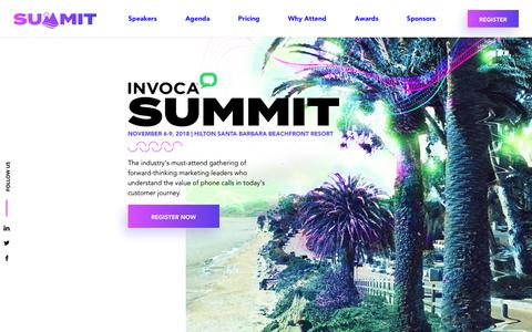 Invoca Summit'18 - Join us for a three-day learning and networking event for Invoca customers, leading digital marketers, partners, and industry experts.