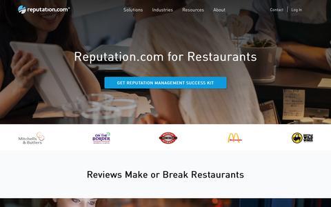 Restaurant Reputation Management, Reputation Monitoring