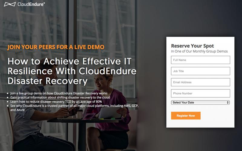 CloudEndure | How to Achieve Effective IT Resilience With CloudEndure Disaster Recovery
