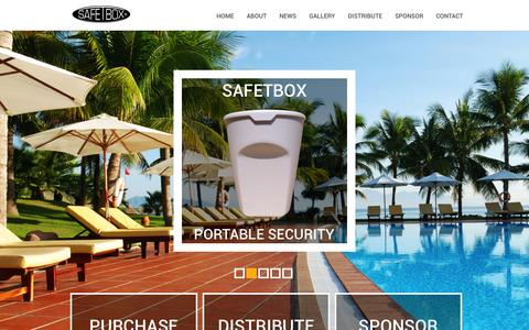 Screenshot of Home Page safetbox.com - Welcome to SafeTbox - captured Sept. 30, 2014