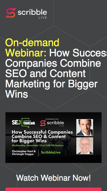 How Successful Companies Combine SEO & Content Marketing for Bigger Wins