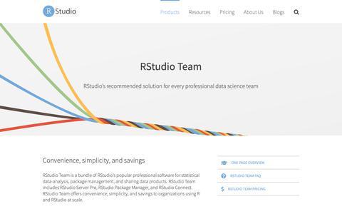 Screenshot of Team Page rstudio.com - RStudio Team - RStudio - captured May 10, 2019