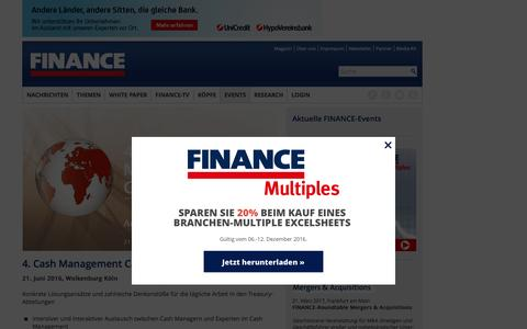 Cash Management Campus-FINANCE Magazin