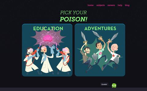 Screenshot of Blog mindsnacks.com - MindSnacks - Learn Spanish, French, Italian, German, Portuguese, and more on your iPhone, iTouch and iPad - captured Nov. 3, 2014
