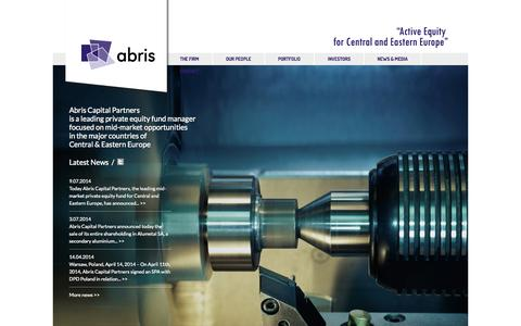 Screenshot of Team Page abris-capital.com - Abris | Active Equity for Central and Eastern Europe - captured Oct. 4, 2014