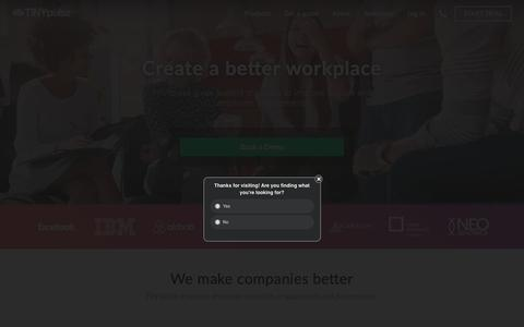 TINYpulse: Employee Engagement Surveys & Performance Management
