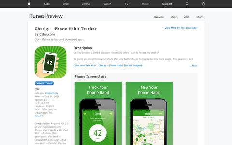 Checky - Phone Habit Tracker on the App Store