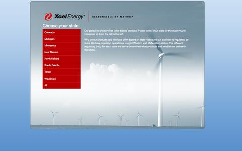 Screenshot of Team Page xcelenergy.com - Xcel Energy - Leadership - captured Oct. 29, 2014