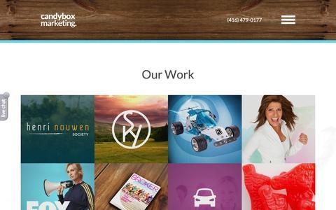 Our Work | Portfolio  | Candybox Marketing