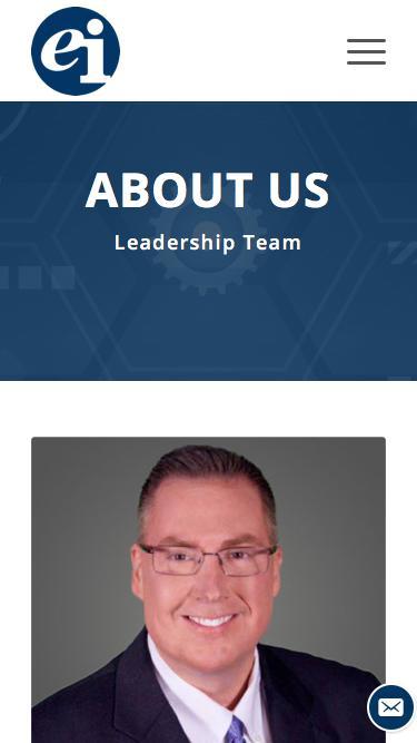Screenshot of Team Page  entint.com - Michael Locher - Enterprise Integration