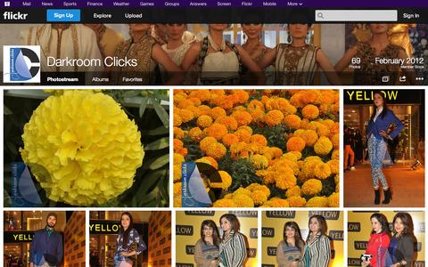 Screenshot of Flickr Page flickr.com - Flickr: Darkroom Clicks' Photostream - captured Oct. 29, 2014