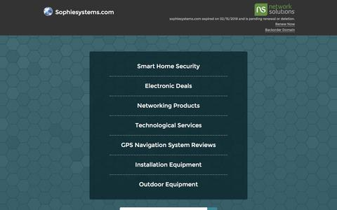 Sophiesystems.com